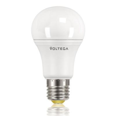 Светодиодная лампа общего назначения 9,5W Е27 4000К VG3-A2E27cold9WСветодиодные лампы LED с цоколем E27<br>В интернет-магазине «Светодом» можно купить не только люстры и светильники, но и лампочки. В нашем каталоге представлены светодиодные, галогенные, энергосберегающие модели и лампы накаливания. В ассортименте имеются изделия разной мощности, поэтому у нас Вы сможете приобрести все необходимое для освещения. <br> Лампа Voltega VG3-А2E27cold9W обеспечит отличное качество освещения. При покупке ознакомьтесь с параметрами в разделе «Характеристики», чтобы не ошибиться в выборе. Там же указано, для каких осветительных приборов Вы можете использовать лампу Voltega VG3-А2E27cold9W. <br> Для оформления покупки воспользуйтесь «Корзиной». При наличии вопросов Вы можете позвонить нашим менеджерам по одному из контактных номеров. Мы доставляем заказы в Москву, Екатеринбург и другие города России.<br><br>Цветовая t, К: CW - холодный белый 4000 К<br>Тип лампы: LED - светодиодная<br>Тип цоколя: E27<br>Диаметр, мм мм: 60<br>Длина, мм: 110<br>MAX мощность ламп, Вт: 9
