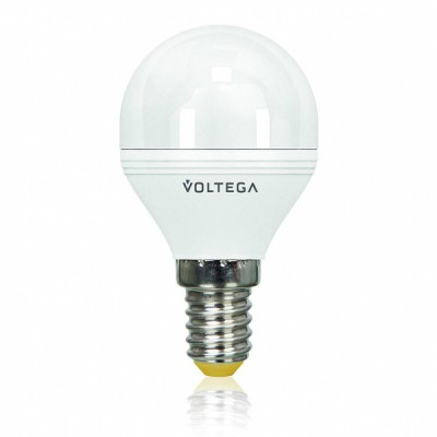 Лампочка светодиодная VG2-G2E14warm5W VoltegaСтандартный вид<br><br><br>Цветовая t, К: WW - теплый белый 2700-3000 К (2800)<br>Тип лампы: LED<br>Тип цоколя: E14<br>MAX мощность ламп, Вт: 5,5