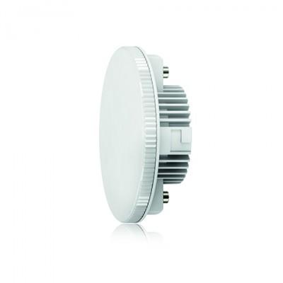 Лампа светодиодная Таблетка VG2-T2GX53cold7WСветодиодные лампы gx 53<br>Дизайнеры рекомендуют покупать для домашнего освещениялампу светодиодную Таблетка Ваттность 7,2W, Цоколь GX53, Цветовая температура 4000К, VG2-T2GX53cold7W ведь она не только эстетически акуратно выглядит, но и выдает достаточно высокий КПД светового потока!<br><br>Цветовая t, К: CW - холодный белый 4000 К<br>Тип лампы: LED - светодиодная<br>Тип цоколя: GX53<br>Диаметр, мм мм: 26<br>Высота, мм: 75<br>MAX мощность ламп, Вт: 7,2