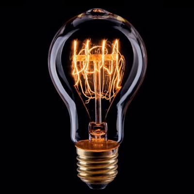 Лампа накаливания винтажная VG6-A19A3-40W VoltegaРетро лампы<br>Дизайнеры рекомендуют покупать для домашнего освещения - Лампа винтажная ЛОН, A19 (Янтарь спираль), Ваттность 40W, Цоколь Е27, VG6-A19A3-40W ведь она не только эстетически акуратно выглядит, но и выдает достаточно высокий КПД светового потока!<br><br>Цветовая t, К: WW - теплый белый 2700-3000 К<br>Тип лампы: накаливания<br>Тип цоколя: Е27<br>MAX мощность ламп, Вт: 40<br>Диаметр, мм мм: 60<br>Высота, мм: 110