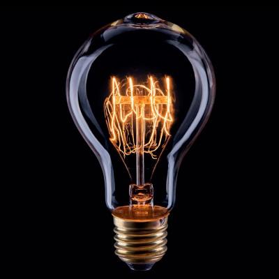 Лампа накаливания ретро A75 75*138 спираль VG6-A75A3-60WРетро лампы<br>Дизайнеры рекомендуют покупать для домашнего освещения - Лампа винтажная ЛОН, A75 (Янтарь спираль), Ваттность 60W, Цоколь Е27, VG6-A75A3-60W ведь она не только эстетически акуратно выглядит, но и выдает достаточно высокий КПД светового потока!<br><br>Тип товара: Лампа накаливания ретро A75 75*138 спираль<br>Цветовая t, К: WW - теплый белый 2700-3000 К<br>Тип лампы: накаливания<br>Тип цоколя: Е27<br>MAX мощность ламп, Вт: 60<br>Диаметр, мм мм: 75<br>Высота, мм: 138