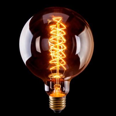 Лампа Voltega VG6-G125A5-60WРетро лампы<br>Дизайнеры рекомендуют покупать для домашнего освещения - Лампа винтажная Шар, G125 (Янтарь ромбы), Ваттность 60W, Цоколь Е27, VG6-G125A5-60W ведь она не только эстетически акуратно выглядит, но и выдает достаточно высокий КПД светового потока!<br><br>Тип лампы: накаливания<br>Тип цоколя: E27<br>MAX мощность ламп, Вт: 60<br>Диаметр, мм мм: 125<br>Высота, мм: 170