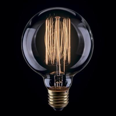 Лампа накаливания ретро G80 80*117 нити VG6-G80A1-40WРетро лампы<br>Дизайнеры рекомендуют покупать для домашнего освещения - Лампа винтажная Шар, G80 (Янтарь нити), Ваттность 40W, Цоколь Е27, VG6-G80A1-40W ведь она не только эстетически акуратно выглядит, но и выдает достаточно высокий КПД светового потока!<br><br>Тип товара: Лампа накаливания ретро G80 80*117 нити<br>Цветовая t, К: WW - теплый белый 2700-3000 К<br>Тип лампы: накаливания<br>Тип цоколя: Е27<br>MAX мощность ламп, Вт: 40<br>Диаметр, мм мм: 80<br>Высота, мм: 117