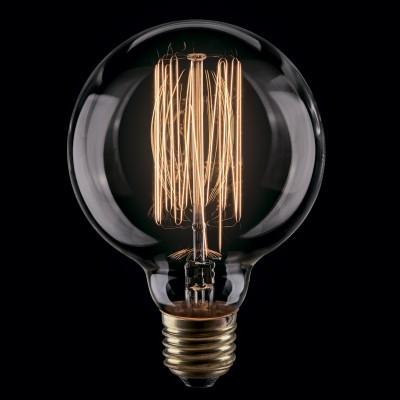 Лампа накаливания ретро G80 80*117 нити VG6-G80A1-60WРетро лампы<br>Дизайнеры рекомендуют покупать для домашнего освещения - Лампа винтажная Шар, G80 (Янтарь нити), Ваттность 60W, Цоколь Е27, VG6-G80A1-60W ведь она не только эстетически акуратно выглядит, но и выдает достаточно высокий КПД светового потока!<br><br>Цветовая t, К: 2200K<br>Тип лампы: накаливания<br>Тип цоколя: E27<br>Диаметр, мм мм: 80<br>Высота, мм: 117<br>MAX мощность ламп, Вт: 60