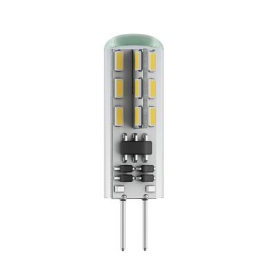 Светодиодная лампа Voltega VG9-K1G4cold2WСветодиодные лампы G4<br>Дизайнеры рекомендуют покупать для домашнего освещениялампу светодиодную Капсула, Ваттность 2,5W, Цоколь G4, Цветовая температура 4000К, VG9-K1G4cold2W ведь она не только эстетически акуратно выглядит, но и выдает достаточно высокий КПД светового потока!<br><br>Цветовая t, К: CW - холодный белый 4000 К<br>Тип лампы: LED - светодиодная<br>Тип цоколя: G4<br>Диаметр, мм мм: 12<br>Высота, мм: 37<br>MAX мощность ламп, Вт: 2,2