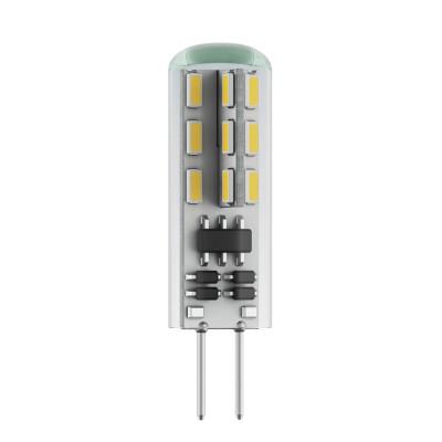 Светодиодная лампа Voltega VG9-K1G4warm2WКапсульные G4 12v<br>Дизайнеры рекомендуют покупать для домашнего освещениялампу светодиодную Капсула, Ваттность 2,5W, Цоколь G4, Цветовая температура 2800К, VG9-K1G4warm2W ведь она не только эстетически акуратно выглядит, но и выдает достаточно высокий КПД светового потока!<br><br>Тип лампы: LED - светодиодная<br>Тип цоколя: G4<br>Диаметр, мм мм: 12<br>Высота, мм: 37