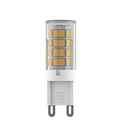 Светодиодная лампа Voltega VG9-K1G9warm4WСветодиодные лампы g9 цоколь 220v<br>Дизайнеры рекомендуют покупать для домашнего освещениялампу светодиодную Капсула, Ваттность 4W, Цоколь G9, Цветовая температура 2800К, VG9-K1G9warm4W ведь она не только эстетически акуратно выглядит, но и выдает достаточно высокий КПД светового потока!<br><br>Цветовая t, К: WW - теплый белый 2700-3000 К (2800)<br>Тип лампы: LED - светодиодная<br>Тип цоколя: G9<br>Диаметр, мм мм: 15<br>Высота, мм: 50<br>MAX мощность ламп, Вт: 4
