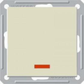 Выключатель Wessen 59 с/у без рамки одноклавишныйС индик. (250В, 16АХ) слоновая кость (VS116-153-2-86)Слоновая кость<br><br><br>Оттенок (цвет): бежевый
