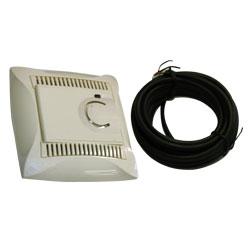 Lexel Дуэт бежевый Электронный термостат 10A для теплого пола с датчиком +5 до +50°C, в сборе (SE WDE000238)Бежевый<br><br><br>Оттенок (цвет): бежевый
