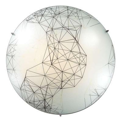 Сонекс WEBI 2217 настенно-потолочный светильникКруглые<br><br><br>Тип лампы: Накаливания / энергосбережения / светодиодная<br>Тип цоколя: E27<br>Количество ламп: 2<br>MAX мощность ламп, Вт: 60<br>Диаметр, мм мм: 300<br>Высота, мм: 100