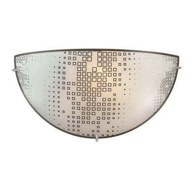 Сонекс WINDS 1218 Настенный светильник браСовременные<br><br><br>Тип лампы: Накаливания / энергосбережения / светодиодная<br>Тип цоколя: E27<br>Количество ламп: 1<br>Ширина, мм: 300<br>MAX мощность ламп, Вт: 60<br>Расстояние от стены, мм: 100<br>Высота, мм: 150