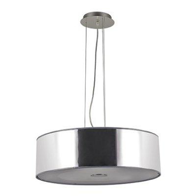 Подвесной светильник Ideal Lux WOODY SP4 CROMOсовременные подвесные люстры модерн<br>Компания «Светодом» предлагает широкий ассортимент люстр от известных производителей. Представленные в нашем каталоге товары выполнены из современных материалов и обладают отличным качеством. Благодаря широкому ассортименту Вы сможете найти у нас люстру под любой интерьер. Мы предлагаем как классические варианты, так и современные модели, отличающиеся лаконичностью и простотой форм.  Стильная люстра Ideal lux WOODY SP4 CROMO станет украшением любого дома. Эта модель от известного производителя не оставит равнодушным ценителей красивых и оригинальных предметов интерьера. Люстра Ideal lux WOODY SP4 CROMO обеспечит равномерное распределение света по всей комнате. При выборе обратите внимание на характеристики, позволяющие приобрести наиболее подходящую модель. Купить понравившуюся люстру по доступной цене Вы можете в интернет-магазине «Светодом».<br><br>Установка на натяжной потолок: Да<br>S освещ. до, м2: 12<br>Тип цоколя: Е27<br>Количество ламп: 4<br>Диаметр, мм мм: 500<br>Длина цепи/провода, мм: 800<br>Высота, мм: 300<br>MAX мощность ламп, Вт: 60