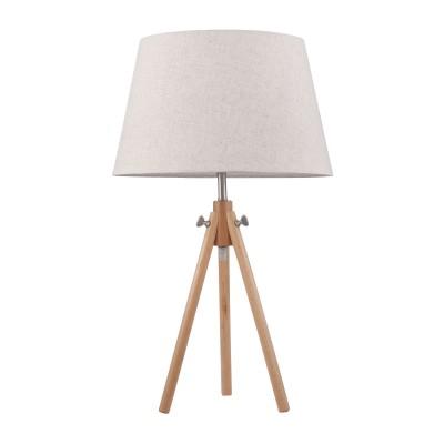 Настольная лампа  Maytoni Z177-TL-01-BR CalvinСовременные<br><br><br>Тип лампы: Накаливания / энергосбережения / светодиодная<br>Тип цоколя: E27<br>Цвет арматуры: Коричневый<br>Количество ламп: 1<br>Диаметр, мм мм: 390<br>Высота, мм: 620<br>MAX мощность ламп, Вт: 60