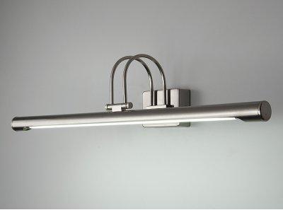3069 13 Вт никель Электростандарт Подсветка для картин и зеркалДля картин<br>Лампа T5 13 Вт в комплекте Питание: 220 В / 50 Гц Размер: 630 х 155 х 140 мм Упаковка: 12 шт.<br>