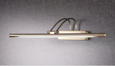 3068 16 Вт бронза Электростандарт Подсветка для картин и зеркалсветильники для картин<br>Лампа T4 16 Вт в комплекте Питание: 220 В / 50 Гц Размер: 550 х 240 х 115 мм Упаковка: 6 шт.<br><br>Тип лампы: T4<br>Ширина, мм: 550<br>Расстояние от стены, мм: 240<br>Высота, мм: 115<br>MAX мощность ламп, Вт: 16