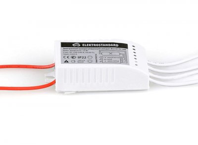 BLS-06 T5 8W Электростандарт Электронный пускорегулирующий аппарат (ЭПРА)ЭПРА для люминесцентных ламп<br>Электронный пускорегулирующий аппарат предназначен для пуска и поддержания рабочего режима люминесцентных ламп. Мощность: 8 Вт Питание: 220 В / 50 Гц<br>