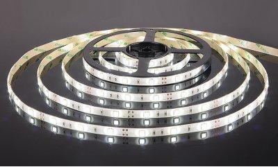 5050/30 LED 7.2W IP65 [белая подложка] белый свет Электростандарт Светодиодная лентаСветодиодная лента 5050<br>В интернет-магазине «Светодом» можно купить не только люстры и светильники, но и лампочки. В нашем каталоге представлены светодиодные, галогенные, энергосберегающие модели и лампы накаливания. В ассортименте имеются изделия разной мощности, поэтому у нас Вы сможете приобрести все необходимое для освещения.   Лампа Электростандарт 5050/30 LED 7.2W IP65 [белая подложка] белый свет обеспечит отличное качество освещения. При покупке ознакомьтесь с параметрами в разделе «Характеристики», чтобы не ошибиться в выборе. Там же указано, для каких осветительных приборов Вы можете использовать лампу Электростандарт 5050/30 LED 7.2W IP65 [белая подложка] белый светЭлектростандарт 5050/30 LED 7.2W IP65 [белая подложка] белый свет.   Для оформления покупки воспользуйтесь «Корзиной». При наличии вопросов Вы можете позвонить нашим менеджерам по одному из контактных номеров. Мы доставляем заказы в Москву, Екатеринбург и другие города России.<br><br>Тип лампы: LED<br>Количество ламп: 30 LED/м<br>MAX мощность ламп, Вт: 7.2 Вт/м