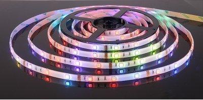 5050/30 LED 7.2W IP65 [белая подложка] мультиколор Электростандарт Светодиодная лентаСветодиодная лента 5050<br>В интернет-магазине «Светодом» можно купить не только люстры и светильники, но и лампочки. В нашем каталоге представлены светодиодные, галогенные, энергосберегающие модели и лампы накаливания. В ассортименте имеются изделия разной мощности, поэтому у нас Вы сможете приобрести все необходимое для освещения.   Лампа Электростандарт 5050/30 LED 7.2W IP65 [белая подложка] мультиколор обеспечит отличное качество освещения. При покупке ознакомьтесь с параметрами в разделе «Характеристики», чтобы не ошибиться в выборе. Там же указано, для каких осветительных приборов Вы можете использовать лампу Электростандарт 5050/30 LED 7.2W IP65 [белая подложка] мультиколорЭлектростандарт 5050/30 LED 7.2W IP65 [белая подложка] мультиколор.   Для оформления покупки воспользуйтесь «Корзиной». При наличии вопросов Вы можете позвонить нашим менеджерам по одному из контактных номеров. Мы доставляем заказы в Москву, Екатеринбург и другие города России.<br><br>Тип лампы: LED<br>Количество ламп: 30 LED/м<br>MAX мощность ламп, Вт: 7.2 Вт/м