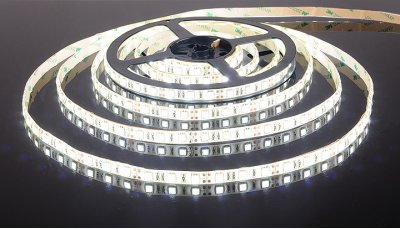 5050/60 LED 14.4W IP65 [белая подложка] белый свет Электростандарт Светодиодная лентаСветодиодная лента 5050<br>В интернет-магазине «Светодом» можно купить не только люстры и светильники, но и лампочки. В нашем каталоге представлены светодиодные, галогенные, энергосберегающие модели и лампы накаливания. В ассортименте имеются изделия разной мощности, поэтому у нас Вы сможете приобрести все необходимое для освещения.   Лампа Электростандарт 5050/60 LED 14.4W IP65 [белая подложка] белый свет обеспечит отличное качество освещения. При покупке ознакомьтесь с параметрами в разделе «Характеристики», чтобы не ошибиться в выборе. Там же указано, для каких осветительных приборов Вы можете использовать лампу Электростандарт 5050/60 LED 14.4W IP65 [белая подложка] белый светЭлектростандарт 5050/60 LED 14.4W IP65 [белая подложка] белый свет.   Для оформления покупки воспользуйтесь «Корзиной». При наличии вопросов Вы можете позвонить нашим менеджерам по одному из контактных номеров. Мы доставляем заказы в Москву, Екатеринбург и другие города России.<br><br>Тип лампы: LED<br>Количество ламп: 60LED/м<br>MAX мощность ламп, Вт: 14.4
