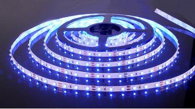 3528/60 LED 4.8W IP20 [белая подложка] синий свет Электростандарт Светодиодная лентаЛента 3528<br>В интернет-магазине «Светодом» можно купить не только люстры и светильники, но и лампочки. В нашем каталоге представлены светодиодные, галогенные, энергосберегающие модели и лампы накаливания. В ассортименте имеются изделия разной мощности, поэтому у нас Вы сможете приобрести все необходимое для освещения.   Лампа Электростандарт 3528/60 LED 4.8W IP20 [белая подложка] синий свет обеспечит отличное качество освещения. При покупке ознакомьтесь с параметрами в разделе «Характеристики», чтобы не ошибиться в выборе. Там же указано, для каких осветительных приборов Вы можете использовать лампу Электростандарт 3528/60 LED 4.8W IP20 [белая подложка] синий светЭлектростандарт 3528/60 LED 4.8W IP20 [белая подложка] синий свет.   Для оформления покупки воспользуйтесь «Корзиной». При наличии вопросов Вы можете позвонить нашим менеджерам по одному из контактных номеров. Мы доставляем заказы в Москву, Екатеринбург и другие города России.<br><br>Тип лампы: LED<br>Количество ламп: 60LED/м<br>MAX мощность ламп, Вт: 4.8Вт/м
