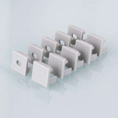 ZLL-2-ALP003 Электростандарт Комплект заглушек для квадратного углового алюминиевого профиля для светодиодной ленты (10 пар)Профиль для ленты<br>Заглушки совместимы с профилем: LL-2-ALP003 Комплект: 10 пар. Упаковка: ПВХ пакет со стикером<br>