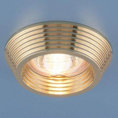 6066 MR16 GD золото Электростандарт Точечный светильникКруглые встраиваемые светильники<br>Лампа: MR16 G5.3 max 50 Вт Диаметр: ? 87 мм Высота внутренней части: ? 23 мм Высота внешней части: ? 21 мм Монтажное отверстие: ? 60 мм Гарантия: 2 года<br><br>Тип цоколя: gu5.3<br>Диаметр, мм мм: 87<br>Диаметр врезного отверстия, мм: 60<br>Высота, мм: 21<br>MAX мощность ламп, Вт: 50