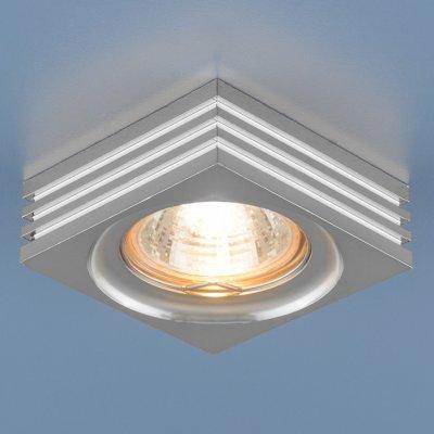 6064 MR16 CH хром Электростандарт Точечный светильникКвадратные встраиваемые светильники<br>Лампа: MR16 G5.3 max 50 Вт Размер: 74 х 74 мм Высота внутренней части: ? 23 мм Высота внешней части: ? 25 мм Монтажное отверстие: ? 60 мм Гарантия: 2 года<br><br>Тип цоколя: gu5.3<br>Ширина, мм: 74<br>Диаметр врезного отверстия, мм: 60<br>Длина, мм: 74<br>Высота, мм: 25<br>MAX мощность ламп, Вт: 50