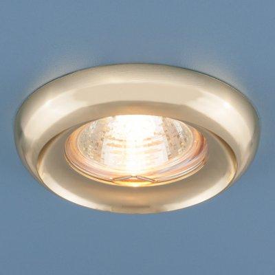 6065 MR16 GD золото Электростандарт Точечный светильникКруглые встраиваемые светильники<br>Лампа: MR16 G5.3 max 50 Вт Диаметр: ? 87 мм Высота внутренней части: ? 23 мм Высота внешней части: ? 18 мм Монтажное отверстие: ? 60 мм Гарантия: 2 года<br><br>Тип цоколя: gu5.3<br>Диаметр, мм мм: 87<br>Диаметр врезного отверстия, мм: 60<br>Высота, мм: 18<br>MAX мощность ламп, Вт: 50