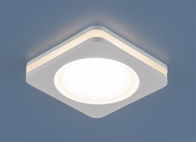 DSK80 5W 3300K Электростандарт Точечный светильник со светодиодамиСветодиодные квадратные светильники<br>Мощность: 5 Вт LED Свет: 3300K Светоотдача: 450 лм Угол рассеивания света: 170° Питание: 220 В 50 Гц Уровень защиты: IP44 Срок службы LED: 50 000 ч Размер: 80 х 80 мм Монтажное отверстие: 63 х 63 мм Высота внутренней части: ? 25 мм Высота внешней части: ? 14 мм Гарантия: 2 года Корпус из алюминия<br>Корпус этих светильников полностью изготовлен из алюминия, а в качестве источника света используются светодиоды. Ровное и мягкое свечение достигается за счёт использования матового акрилового рассеивателя, за которым, в центральной и торцевой части, расположены светодиоды.<br> Сейчас светодиодное освещение приобретает все большую популярность. Это объясняется тем, что диоды гораздо более экономичны по сравнению с лампами накаливания и расходуют намного меньше электроэнергии.<br>Кроме того, эти светильники имеют повышенный уровень пылевлагозащищенности, что позволяет использовать их во влажных помещениях, например в ванных комнатах или кухнях.<br><br>Цветовая t, К: 3300<br>Тип лампы: LED<br>Тип цоколя: LED<br>Ширина, мм: 80<br>Диаметр врезного отверстия, мм: 63<br>Длина, мм: 80<br>MAX мощность ламп, Вт: 5