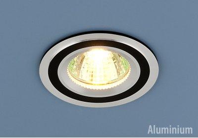 5305 хром/черный Электростандарт Алюминиевый точечный светильникКруглые<br>Светильника выполнен из литого под давления алюминия. Строгий классический дизайн позволяет светильнику лаконично смотреться в любом интерьере. Лампа в светильнике зафиксирована выворачивающимся диском.<br> Лампа: MR16 G5.3 max 50 Вт Диаметр: ? 78 мм Высота внутренней части: ? 22 мм Высота внешней части: ? 3 мм Монтажное отверстие: ? 65 мм Гарантия: 2 года Корпус из алюминия<br><br>Тип цоколя: gu5.3<br>Диаметр, мм мм: 78<br>Диаметр врезного отверстия, мм: 65<br>Высота, мм: 3<br>MAX мощность ламп, Вт: 50