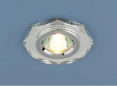 8020/2 SL/SL (зеркальный / серебро) Электростандарт Точечный светильникКруглые встраиваемые светильники<br>Лампа: MR16 G5.3 max 50 Вт Диаметр: ? 98 мм Высота внутренней части: ? 16 мм Высота внешней части: ? 10 мм Монтажное отверстие: ? 65 мм Гарантия: 2 года<br><br>S освещ. до, м2: 3<br>Тип лампы: галогенная<br>Тип цоколя: gu5.3<br>Цвет арматуры: серебристый<br>Количество ламп: 1<br>Диаметр, мм мм: 90<br>Диаметр врезного отверстия, мм: 65<br>Оттенок (цвет): серебристный<br>MAX мощность ламп, Вт: 50