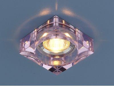 9171 MR16 PK/SL розовый/серебро Электростандарт Точечный светильникКвадратные<br>Лампа: MR16 G5.3 max 50 Вт Размер: 80 х 80 мм Высота внутренней части: ? 17 мм Высота внешней части: ? 24 мм Монтажное отверстие: ? 65 мм Гарантия: 2 года<br><br>S освещ. до, м2: 2<br>Тип лампы: галогенная<br>Тип цоколя: gu5.3<br>Ширина, мм: 90<br>Диаметр врезного отверстия, мм: 66<br>Длина, мм: 40<br>Оттенок (цвет): розовый<br>MAX мощность ламп, Вт: 50