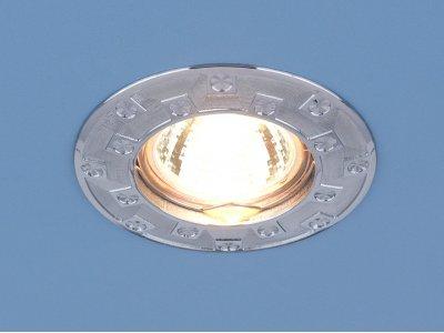 7202 хром (CH) Электростандарт Точечный светильник для подвесных, натяжных и реечных потолковКруглые<br>Лампа: MR16 G5.3 max 50 Вт Диаметр: ? 86 мм Высота внутренней части: ? 22 мм Высота внешней части: ? 4 мм Монтажное отверстие: ? 65 мм Гарантия: 2 года<br><br>Тип цоколя: gu5.3<br>Диаметр, мм мм: 86<br>Диаметр врезного отверстия, мм: 65<br>Высота, мм: 6<br>MAX мощность ламп, Вт: 35