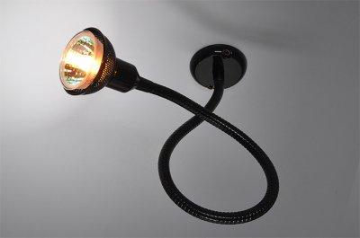 1214 MR16 черный Электростандарт Подсветка галогеннаяСветильники на гибкой ножке<br>Лампа: MR16 G5.3 max 40 Вт Питание: 12 / 220 В Упаковка: 50 шт. Размер: 560 х 55 х 55 мм<br><br>Диаметр, мм мм: 55<br>Длина, мм: 560