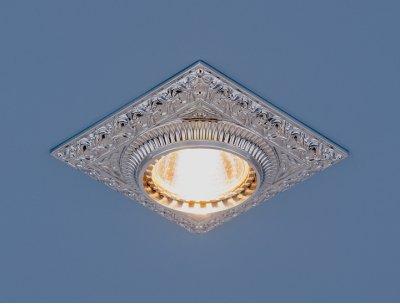 4104 хром (CH) Электростандарт Точечный светильник для подвесных, натяжных и реечных потолков