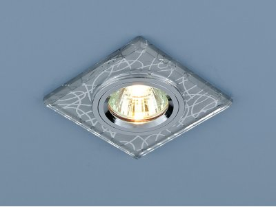 8370 CH (хром) Электростандарт Точечный светильникКвадратные<br>Лампа: MR16 G5.3 max 50 Вт Размер: 90 х 90 мм Высота внутренней части: ? 18 мм Высота внешней части: ? 9 мм Монтажное отверстие: ? 60 мм Гарантия: 2 года<br><br>S освещ. до, м2: 3<br>Тип лампы: галогенная<br>Тип цоколя: gu5.3<br>Цвет арматуры: серебристый<br>Количество ламп: 1<br>Ширина, мм: 95<br>Диаметр врезного отверстия, мм: 65<br>Длина, мм: 95<br>Оттенок (цвет): серебристый<br>MAX мощность ламп, Вт: 50