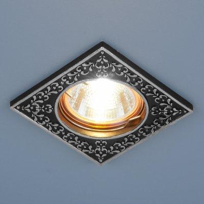 120071 MR16 BK/SL черный/серебро Электростандарт Точечный светильник
