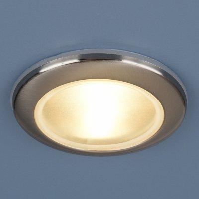1080 MR16 CH хром Электростандарт Влагозащищенный точечный светильникКруглые встраиваемые светильники<br>Пылевлагозащенность: IP44 Лампа: MR16 G5.3 max 50 Вт Диаметр: ? 93 мм Высота внутренней части: ? 20 мм Высота внешней части: ? 12 мм Монтажное отверстие: ? 65 мм Гарантия: 2 года<br><br>Тип цоколя: gu5.3<br>Диаметр, мм мм: 93<br>Диаметр врезного отверстия, мм: 65<br>Высота, мм: 12<br>MAX мощность ламп, Вт: 50