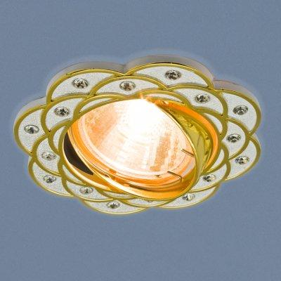 8006 MR16 SL/GD серебро/золото Электростандарт Точечный светильникКруглые<br>Лампа: MR16 G5.3 max 50 Вт Диаметр: ? 95 мм Высота внутренней части: ? 20 мм Высота внешней части: ? 5 мм Монтажное отверстие: ? 75 мм Гарантия: 2 года<br><br>Тип цоколя: gu5.3<br>Диаметр, мм мм: 95<br>Диаметр врезного отверстия, мм: 75<br>Высота, мм: 5<br>MAX мощность ламп, Вт: 50