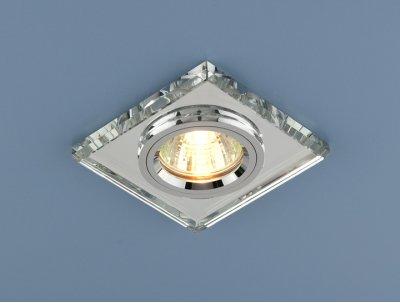 8170/2 SL/SL (зеркальный / серебро) Электростандарт Точечный светильник