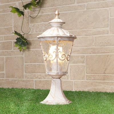 Diadema S (GLYF-8046S) белое золото Электростандарт Светильник на грунтФонари на столб<br>Мощность: 60 Вт Цоколь: Е27 Питание: 220-240 В / 50 Гц Пылевлагозащищенность: IP 44 Размер: 185 х 185 х 425 мм Упаковка: 6 шт.<br><br>Тип лампы: Накаливания / энергосбережения / светодиодная<br>Тип цоколя: E27<br>Количество ламп: 1<br>Ширина, мм: 185<br>Длина, мм: 185<br>Высота, мм: 425<br>MAX мощность ламп, Вт: 60