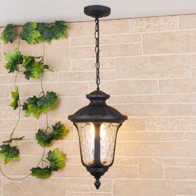Carina H (арт. GLYF-1452H) черный Электростандарт Светильник подвеснойПодвесные уличные светильники<br>Цоколь: Е27 Питание: 220 В / 50 Гц Пылевлагозащищенность: IP 44 Мощность: 1 x 60 Вт Размер: 235 x 235 x 840 мм Упаковка: 6 шт.<br><br>Тип цоколя: E27<br>Количество ламп: 1<br>Диаметр, мм мм: 235<br>Высота, мм: 840<br>MAX мощность ламп, Вт: 60