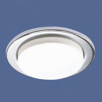 1035 GX53 CH хром Электростандарт Точечный светильникКруглые<br>Лампа: GX53 max 13 Вт Диаметр: ? 100 мм Высота внутренней части: ? 30 мм Высота внешней части: ? 10 мм Монтажное отверстие: ? 80 мм Гарантия: 2 года<br><br>Тип цоколя: GX53<br>Диаметр, мм мм: 100<br>Диаметр врезного отверстия, мм: 80<br>MAX мощность ламп, Вт: 13