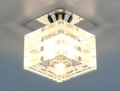 8250 CH/WH (хром / белый) Электростандарт Точечный светильник
