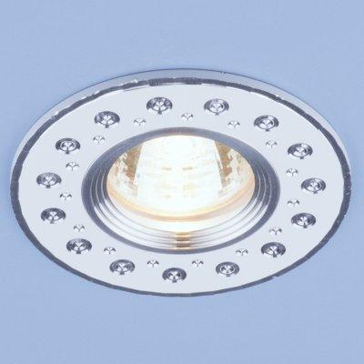 2008 MR16 WH белый Электростандарт Алюминиевый точечный светильникКруглые<br>Светильника выполнен из литого под давления алюминия. Строгий классический дизайн позволяет светильнику лаконично смотреться в любом интерьере.<br> Лампа: MR16 G5.3 max 50 Вт Диаметр: ? 95 мм Высота внутренней части: ? 18 мм Высота внешней части: ? 3 мм Монтажное отверстие: ? 60 мм Гарантия: 2 года Корпус из алюминия<br><br>Тип цоколя: gu5.3<br>Диаметр, мм мм: 95<br>Диаметр врезного отверстия, мм: 60<br>MAX мощность ламп, Вт: 50