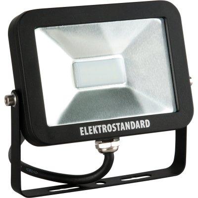 SLUS LED 10W 6500K Электростандарт Прожектор светодиодныйCветодиодные<br>Технические характеристики: Мощность: 10 Вт Световой поток: 800 лм Размер: 148 x 130 x 26 мм Источник света: 10 SMD светодиодов Epistar<br>