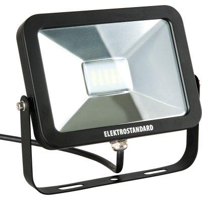 SLUS LED 20W 6500K Электростандарт Прожектор светодиодныйCветодиодные<br>Технические характеристики: Мощность: 20 Вт Световой поток: 1600 лм Размер: 173 x 130 x 31 мм Источник света: 20 SMD светодиодов Epistar<br><br>Цветовая t, К: 6500<br>Тип лампы: LED<br>MAX мощность ламп, Вт: 20