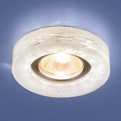 6062 MR16 WH белый Электростандарт Точечный светильник со светодиодамиКруглые<br>Лампа: MR16 G5.3, max 50 Вт + LED 3 Вт Температура цвета LED: 4200K (теплый белый) Диаметр: ? 95 мм Высота внутренней части: ? 20 мм Высота внешней части: ? 13 мм Монтажное отверстие: ? 59 мм<br><br>Тип лампы: LED<br>Диаметр, мм мм: 95<br>Диаметр врезного отверстия, мм: 59