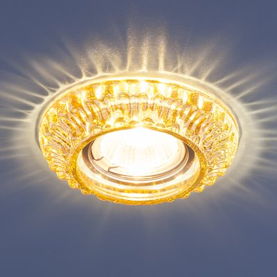7247 MR16 GC тонированный Электростандарт Точечный светильник со светодиодамиКруглые встраиваемые светильники<br>Лампа: MR16 G5.3, max 50 Вт + LED 3 Вт Температура цвета LED: 4200K (теплый белый) Диаметр: ? 107 мм Высота внутренней части: ? 21 мм Высота внешней части: ? 15 мм Монтажное отверстие: ? 59 мм<br><br>Тип цоколя: gu5.3<br>Диаметр, мм мм: 107<br>Диаметр врезного отверстия, мм: 59<br>MAX мощность ламп, Вт: 50