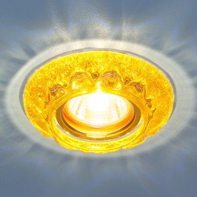 7249 MR16 GD золотой блеск Электростандарт Точечный светильник со светодиодамиКруглые встраиваемые светильники<br>Лампа: MR16 G5.3, max 50 Вт + LED 3 Вт Температура цвета LED: 4200K (теплый белый) Диаметр: ? 105 мм Высота внутренней части: ? 21 мм Высота внешней части: ? 14 мм Монтажное отверстие: ? 59 мм<br><br>Тип цоколя: gu5.3<br>Диаметр, мм мм: 105<br>Диаметр врезного отверстия, мм: 59<br>MAX мощность ламп, Вт: 50